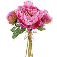 5 розовых пионов букет - цветы и букеты на df.ua
