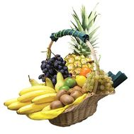 Large fruit basket - flowers and bouquets on df.ua