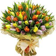 """""""Букет 101 тюльпан"""" в интернет-магазине цветов df.ua"""