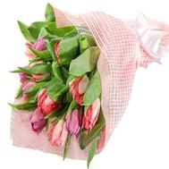 Bouquet of 15 Tulips - flowers and bouquets on df.ua