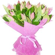 Bouquet of 21 tulips - flowers and bouquets on df.ua