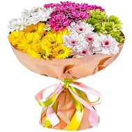 Bouquet of 5 chrysanthemums - flowers and bouquets on df.ua