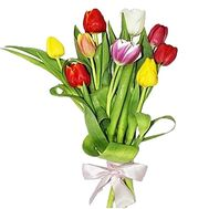 """Bouquet of 9 Tulips"" in the online flower shop df.ua"