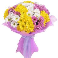 Bouquet of chrysanthemums - flowers and bouquets on df.ua