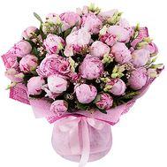 Букет из розовых пионов - цветы и букеты на df.ua