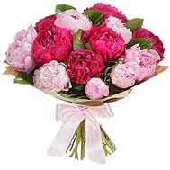 Букет пион - цветы и букеты на df.ua