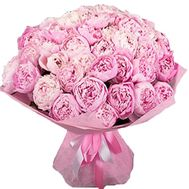 Букет розовых пионов - цветы и букеты на df.ua