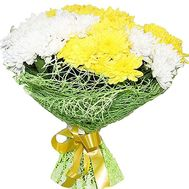Bouquet with chrysanthemums - flowers and bouquets on df.ua