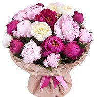 Букет с пионами - цветы и букеты на df.ua