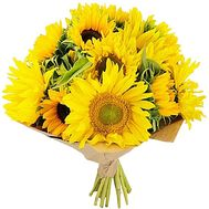 Bouquet with sunflowers - flowers and bouquets on df.ua