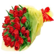 Bouquet with tulips - flowers and bouquets on df.ua