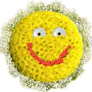 A bouquet of smiley faces - flowers and bouquets on df.ua