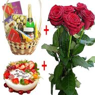 Bouquet with sweets - flowers and bouquets on df.ua
