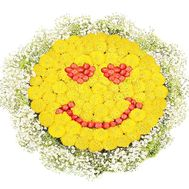 Цветы смайл - цветы и букеты на df.ua