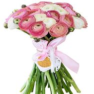 Exotic bouquet of flowers from the Ranunculus - flowers and bouquets on df.ua