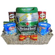 Elite men`s basket with beer - flowers and bouquets on df.ua