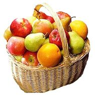 Fruit basket on order - flowers and bouquets on df.ua