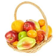 Fruit basket order - flowers and bouquets on df.ua