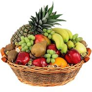 Fruit gift basket - flowers and bouquets on df.ua