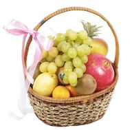 Fruits in the basket - flowers and bouquets on df.ua