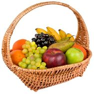 Fruits in the basket as a gift - flowers and bouquets on df.ua