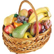 Basket of fruits - flowers and bouquets on df.ua