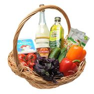 Product basket for the holiday - flowers and bouquets on df.ua