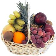 Fruit basket to buy - flowers and bouquets on df.ua