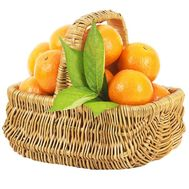 Basket of tangerines - flowers and bouquets on df.ua