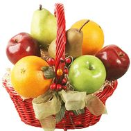 Fruit basket - flowers and bouquets on df.ua