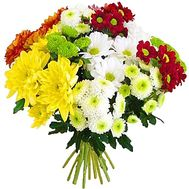 Beautiful bouquet of chrysanthemums - flowers and bouquets on df.ua