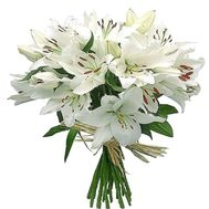 Beautiful bouquet of lilies - flowers and bouquets on df.ua