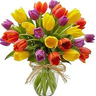 Beautiful bouquet of tulips - flowers and bouquets on df.ua