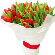 Red tulips bouquet - flowers and bouquets on df.ua