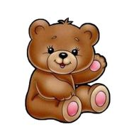 """Brown teddy bear small"" in the online flower shop df.ua"
