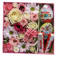 Set of flowers and sweets - flowers and bouquets on df.ua