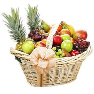 Huge fruit basket - flowers and bouquets on df.ua