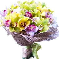 A huge bouquet of orchids - flowers and bouquets on df.ua