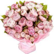 Огромный букет пионов - цветы и букеты на df.ua
