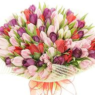 Huge bouquet of tulips - flowers and bouquets on df.ua