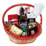 Gift basket for a man with whiskey - flowers and bouquets on df.ua