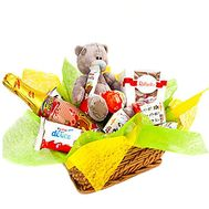 Gift basket for baby - flowers and bouquets on df.ua
