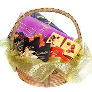 Gift basket for woman - flowers and bouquets on df.ua