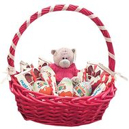 Gift basket for a baby with a bear - flowers and bouquets on df.ua