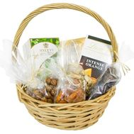 Gift basket with tea - flowers and bouquets on df.ua