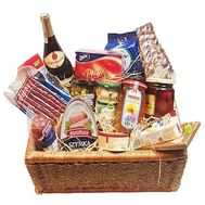 Gift shopping basket - flowers and bouquets on df.ua