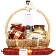 Gift basket for men - flowers and bouquets on df.ua