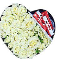 Подарок цветы и сладости - цветы и букеты на df.ua