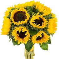 Sunflowers bouquet - flowers and bouquets on df.ua