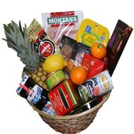 Festive food basket - flowers and bouquets on df.ua